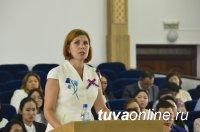 Глава Тувы встретился с выпускниками-отличниками вузов и училищ