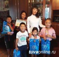 Коллектив АО «Тываэнергосбыт» присоединился к акции «Помоги собраться в школу»