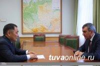 Сергей Меняйло и Шолбан Кара-оол обсудили перспективные направления работы МАСС