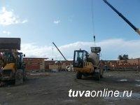 В столице Тувы строится еще один детский сад