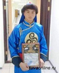 Начын Салчак из Кызыла стал лауреатом ХV Международного Курултая сказителей (Республика Алтай)