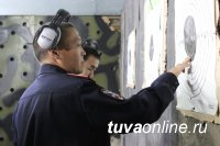 В МВД по Республике Тыва состоялась спартакиада, посвященная столетним юбилеям нескольких служб ведомства