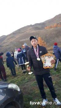 Победителем соревнований по спортивному ориентированию в Туве стал Найдан Ооржак