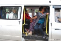 Кызыл: Посадка и высадка пассажиров маршрутных такси вне остановок наказывается штрафом