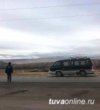 В Туве сотрудники ГИБДД проводят рейды по выявлению нелегальных междугородних пассажироперевозчиков