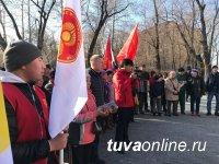 В Туве к 100-летию ВЛКСМ заложили капсулу с Обращением к молодежи 2068 года