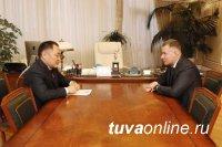 Министр МЧС России поблагодарил Главу Тувы за внимание к вопросам обеспечения безопасности