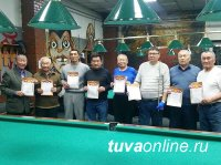 В МВД по Республике Тыва проведен турнир по бильярду среди ветеранов