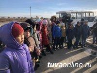 Сотрудники Тываэнерго провели экскурсию для школьников
