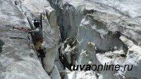 Военный спецназ впервые поднялся на хребет Циган-Шибету в Туве
