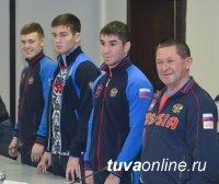 В Туве побывали звезды российского спорта, представители ЦСКА