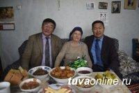 Хову-Аксы: Эмилию Ковалеву поздравил с юбилеем Владимир Путин