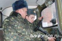 Кызыл: Обучение призывников на водителей категории С