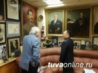 Глава Тувы встретился с главным редактором газеты «Московский комсомолец» Павлом Гусевым