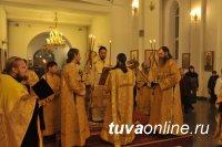 В православном храме Тувы молятся о мире на Украине