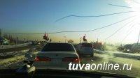 Урегулирована работа светофора на въезде на Коммунальный мост г. Кызыла