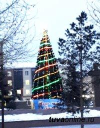 В Кызыле 17 декабря днем ожидается 12 - 14 градусов мороза