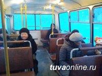 Количество автобусов на Левобережные дачи г. Кызыла по просьбам жителей увеличено до 15