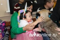 В Кызыле прошел новогодний утренник для детей с особенностями здоровья