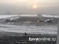 Прямым авиарейсом, связавшим  Москву и Кызыл, за восемь дней Нового года  воспользовались 447 человек