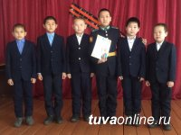 Школьники Барун-Хемчикского кожууна Тувы встретились с кадетами Кызылского президентского училища
