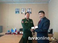 Монгун-тайгинец Вячеслав Хертек спустя 33 года получил удостоверение участника ликвидации радиационной аварии на подлодке