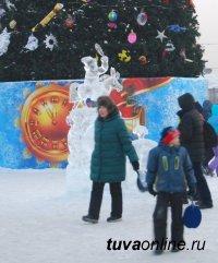 В Кызыле 37 градусов мороза. Возобновлены занятия в школах
