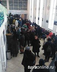С 18 января возобновлено выполнение прямого авиарейса Москва – Кызыл – Москва