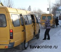 Кызыл: ГАЗЕЛЬ, на которой без разрешительных документов осуществлялась перевозка пассажиров по городскому маршруту, изъята на штрафстоянку