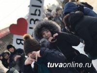 Молодежь поставила «лайк» Кызылу в Международный день без Интернета