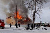 В клубе села Хондергей произошёл пожар