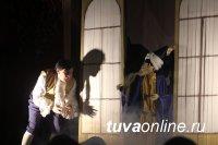 Кукольный спектакль в подарок на Шагаа от депутата Госдумы детям Чаа-Хольского кожууна