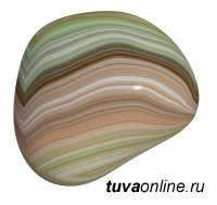 Минералы Тувы. Мраморный оникс