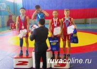 Юные спортсмены Тувы завоевали четыре золота на первенстве СФО по вольной борьбе