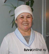 ЧЕЛОВЕК ТРУДА. Санитарка приемного отделения Светлана Чымы