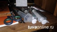 В одном из гаражей Кызыла накрыт наркопритон