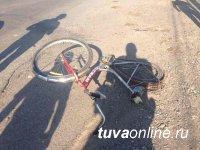 В Тандинском районе нетрезвый водитель совершил наезд на несовершеннолетнего велосипедиста и скрылся с места автоаварии