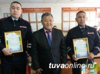 Заповедник поблагодарил полицейских Тувы за предотвращение кражи служебного УАЗа