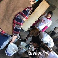 Добрые Сердца Тувы помогли Тувинскому региональному организацию Всероссийского общество инвалидов отремонтировать помещение