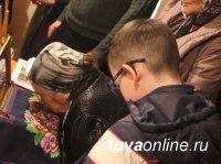 Ковчег с мощами святой блаженной Матроны Московской провозят по районам Тувы