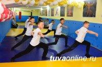 В Тувинском кадетском корпусе (школа-интернат) методом народной стройки реконструировали заброшенный подвал в современный спортзал