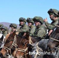 Парадный расчет горной кавалерии примет участие в шествии 9 мая в столице Республики Тыва