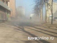 В Туве 9  и 10 мая ожидается сильный ветер