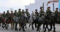 Тува стала единственным регионом, где в Параде 9 мая приняла участие кавалерия