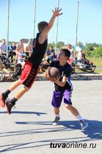 В Кызыле пройдет 2-й этап турнира по уличному баскетболу