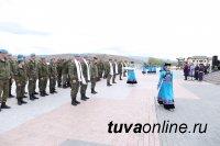 В Туву прибыли участники всеармейского этапа конкурса «Военного ралли»