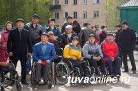 В школе № 2 г. Кызыла открылся лукодром для спортсменов с нарушением опорно-двигательного аппарата