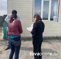 Проведен рейд на Левобережных дачах Кызыла по легализации неформальной занятости