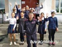 Познавательный урок дорожной грамоты провели госавтоинспекторы в школе города Турана