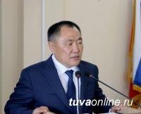 Шолбан Кара-оол представил Отчет о деятельности правительства Тувы за 2018 год в парламенте республики